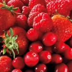 Strawberry, Raspberry & Cranberry fruit
